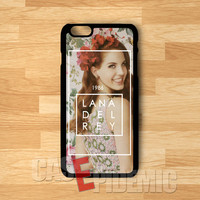 Lana Del Rey born year hipster floral - shin for  iPhone 4/4S/5/5S/5C/6/6+,Samsung S3/S4/S5/S6 Regular,Samsung Note 3/4