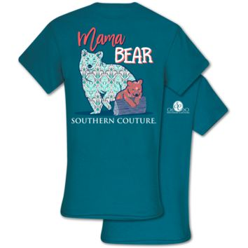 Southern Couture Classic Mama Bear T-Shirt