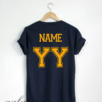 Custom Date of Birth Shirt Personalized Date of Birth Tshirt Navy Color Unisex Size - RT79