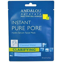 Andalou Naturals Mask, Instant Pure Pore - Pack of 6
