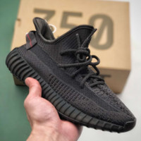 Black Adidas Yeezy Boost 350 V2 Causal Classic Running Sports Sneakers Shoes EF2367