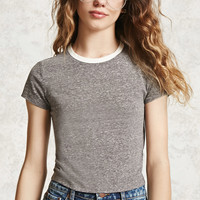 Burnout Cropped Tee