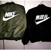 Bomber jackets cotton-padded jacket coat female air force couples