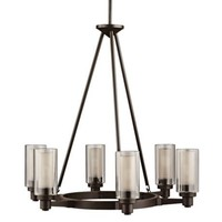 "Circolo Collection Olde Bronze 26"" Wide Chandelier - #80391 