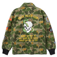 Diamond Supply Co. - Pacific Tour Patch Jacket - Olive Camo