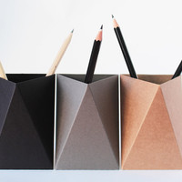 Origami Pencil Box- set of 3