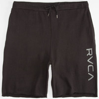 Rvca Sofa Cities Mens Shorts Black  In Sizes
