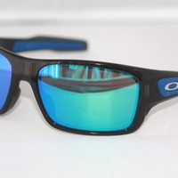 Oakley Turbine S YOUTH Sunglasses OJ9003-0357 Black W/ Sapphire Iridium YOUTH