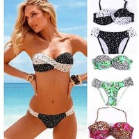 Sexy Swimsuit New Arrival Summer Beach Hot With Steel Wire Bikini [6532533639]