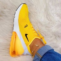 NIKE AIR MAX 270 Tide brand men and women air cushion sports shoes