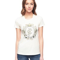Logo Juicy Lace Cameo Tee by Juicy Couture,