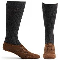 Brogue Shoe Sock
