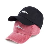 Trendy Winter Jacket VORON 2017 Hot sale fish embroidery baseball cap women sun hat adjustable cotton snapback hats fashion Dad hat men caps AT_92_12