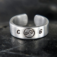 Couples Relationship Yin Yang Ring