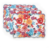 The Pioneer Woman Flea Market Reversible Placemat, 4pk - Walmart.com