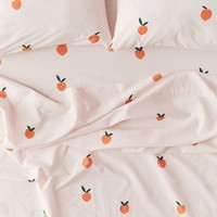 Allover Peaches Sheet Set | Urban Outfitters