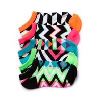 Girls Tween Glow Socks 5 Pack
