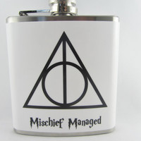 Harry Potter Flask & Funnel 6oz Stainless Steel Flask