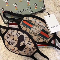 GUCCI / Disney cotton personality wild mask