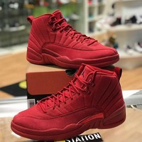 Air Jordan 12 Retro Gym Red AJ12s Sneakers - Best Deal Online
