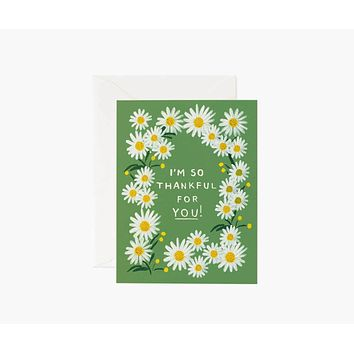 Daisies Thankful for You Card