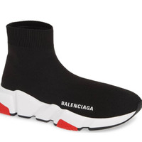 Men's Black & Red Balenciaga Sneaker