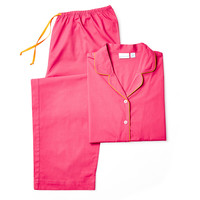 Long Sleeve Pajamas, Fuchsia, Pajamas