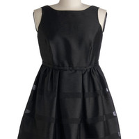 Dinner Party Darling Dress in Black - Plus
