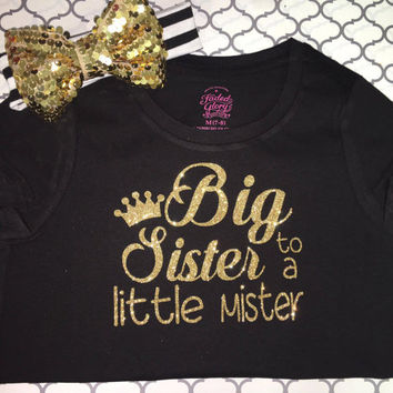 Big Sister to a Little Mister TOP ONLY