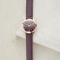 Henry London Hampstead Watch in Plum Size: One Size Watches