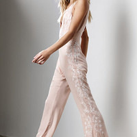 Honey Punch Embroidered Jumpsuit at PacSun.com
