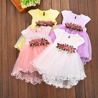 Baby Girl Floral Tulle Dress