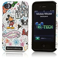 Mickey Mouse iPhone 4/4S Case by Dooney & Bourke - White   Disney Store
