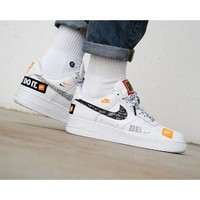 Nike Air Force 1 Low Just Do It Inspired