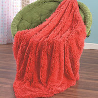 Soft and Shaggy Pillows or Throws