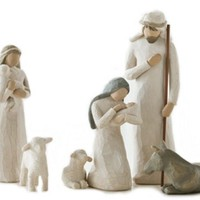 Willow Tree Nativity Set, New, Free Shipping