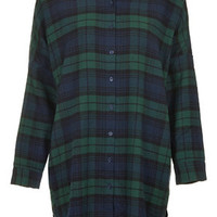 Checked Nightshirt - Green