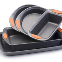 Rachael Ray Yum-O Nonstick 5 Piece Bakeware Set