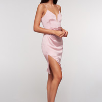 Avianna Midi Dress in Dusty Pink