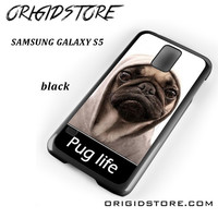 New Design Funny Hilarious Pug Life Parody Fans For Samsung Galaxy S5 Case UY