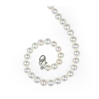 Honora 6-7 MM White Freshwater Cultured Pearl Necklace