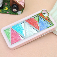 Nice Pink Triangle Hard Cover Case .. on Luulla