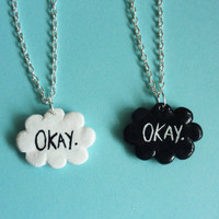 One- The fault in our stars 'Okay' Necklace