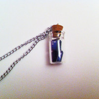 Doctor Who Tardis In A Bottle Necklace
