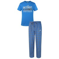 NFL Men's Detriot Lions Medalists Pajama Set