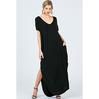 OVERSIZED T-SHIRT MAXI DRESS