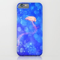 THE JELLYFISH - for iphone iPhone & iPod Case by Simone Morana Cyla
