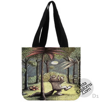 Where the Wild Things are New Hot, handmade bag, canvas bag, tote bag