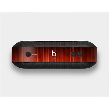 The Fiery Glowing Gradient Stripes Skin Set for the Beats Pill Plus