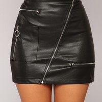 Janelle Skirt - Black